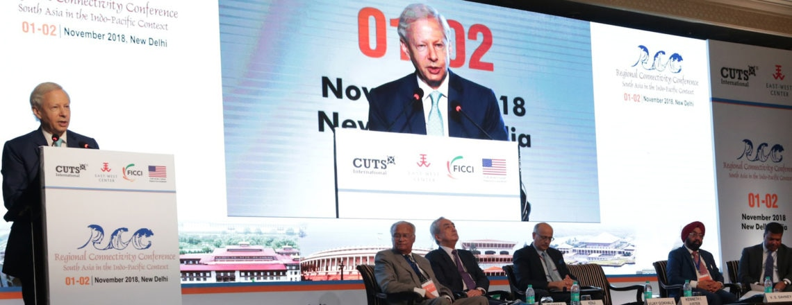 Remarks by Ambassador Juster at  2018 Regional Connectivity Conference