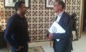 Kal Penn with Ambassador