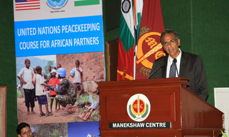 Remarks by Ambassador Richard R. Verma to Mark U.S.-India Peacekeeping Cooperation in Africa