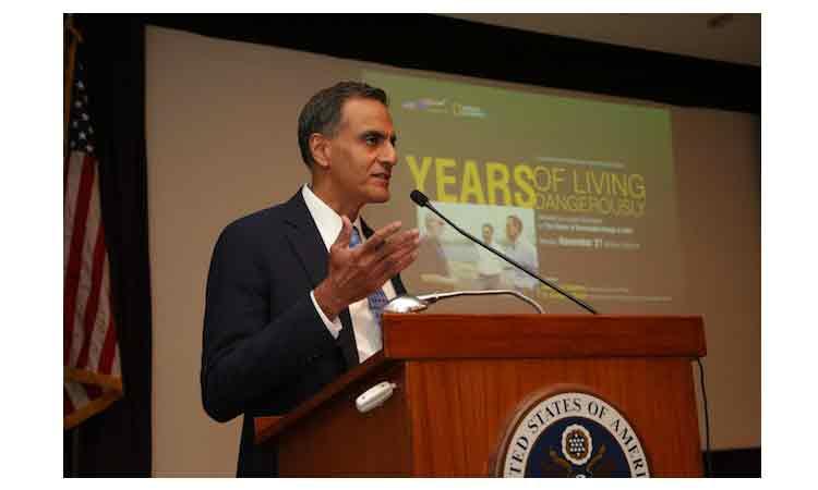 Years of Living Dangerously Screening, Remarks by Ambassador Richard R. Verma