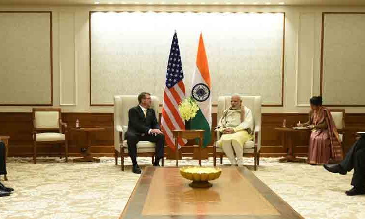 Secretary of Defense Carter in India, December 8, 2016 . With PM Modi.