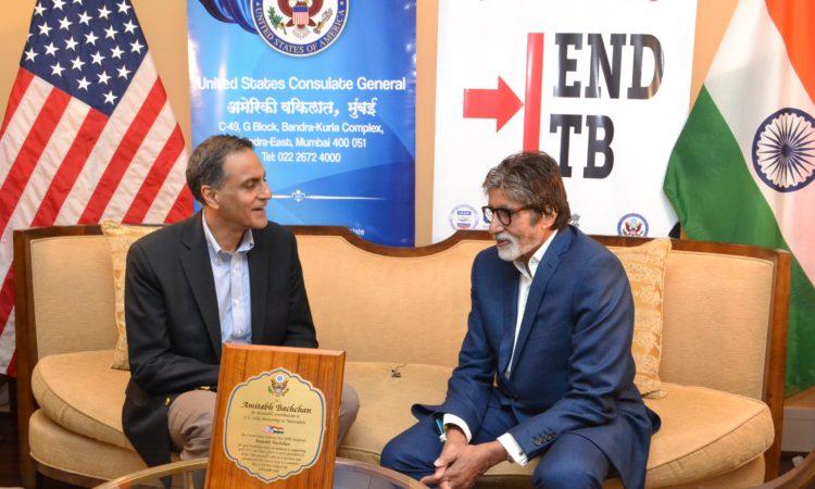 Amitabh Bachchan & Ambassador Richard Verma