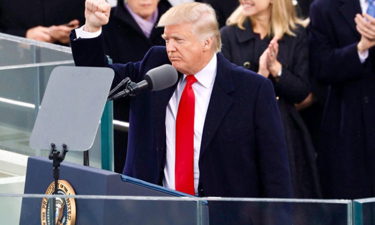 The Inauguration of Donald J. Trump