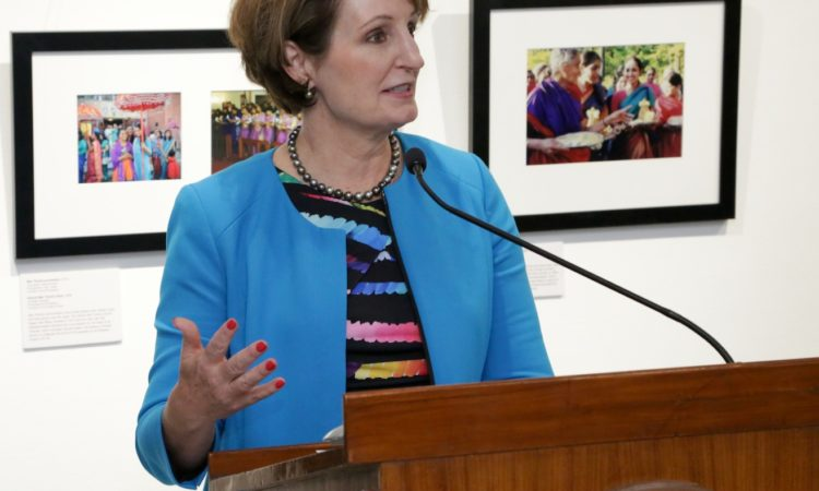 Remarks by Chargé D'Affaires MaryKay Carlson at Inauguration of the exhibition