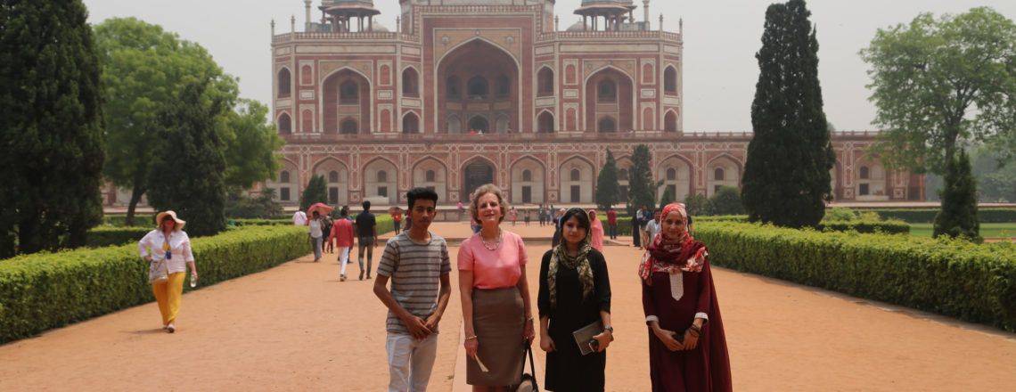 PDAS for Educational and Cultural Affairs Jennifer Galt Visits India