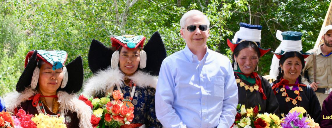 Ambassador Kenneth I. Juster Visits Ladakh