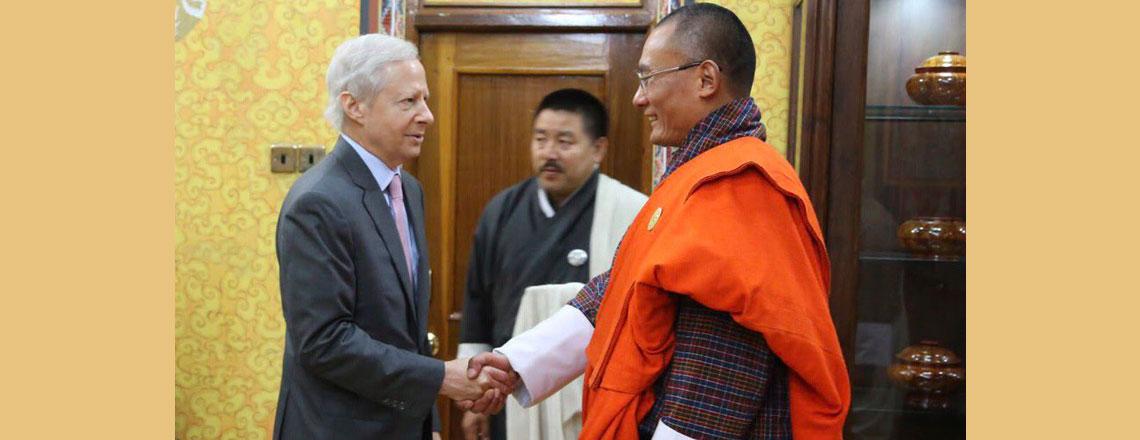 Ambassador Kenneth I. Juster Visits Bhutan