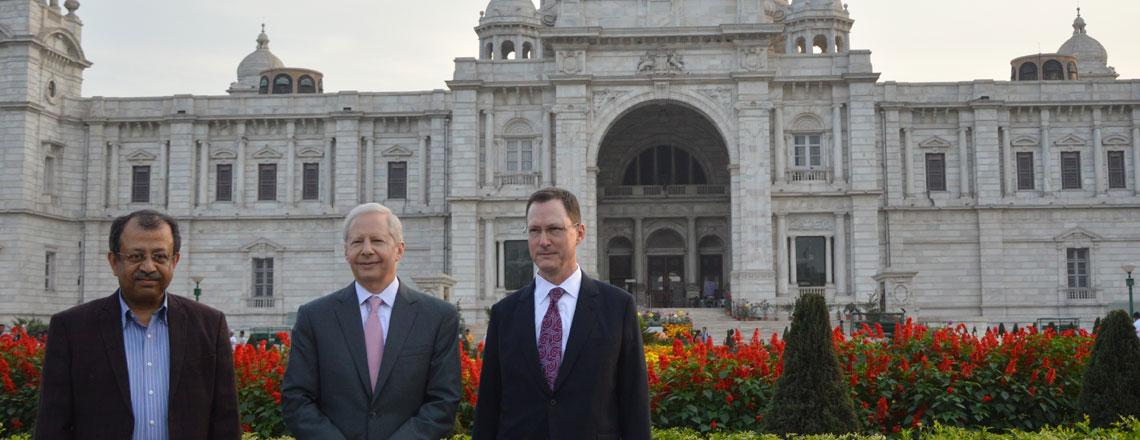 Thank you Craig Hall, U.S. Consul General in Kolkata