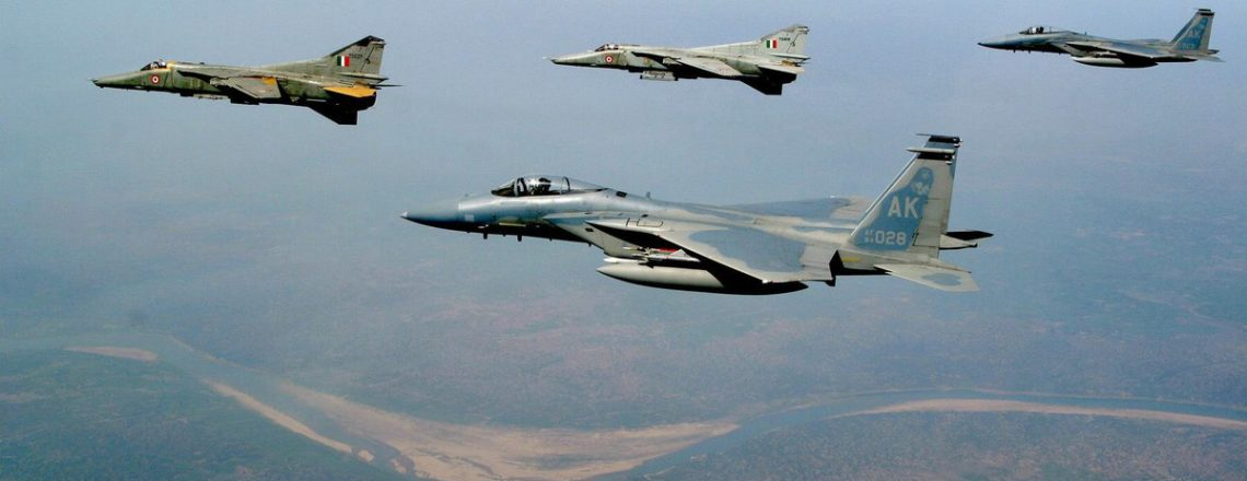 All the Best to US & Indian Air Forces for Exercise #CopeIndia2018