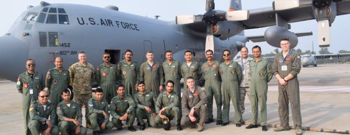 Congratulations to U.S. & Indian Air Forces on Completion of #CopeIndia