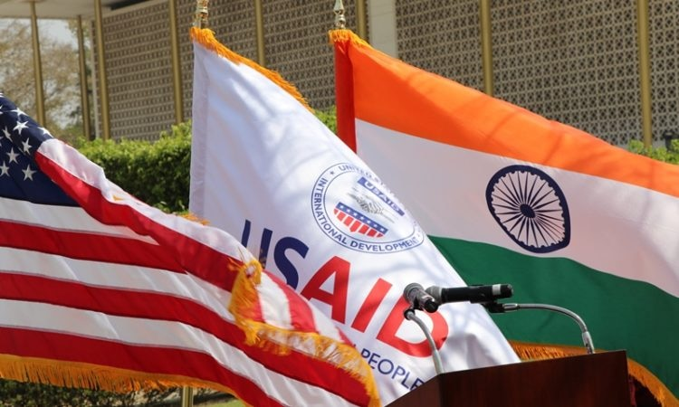 Flags for release - USAID & AMCHAM India Sign MOU to Partner for India's Development