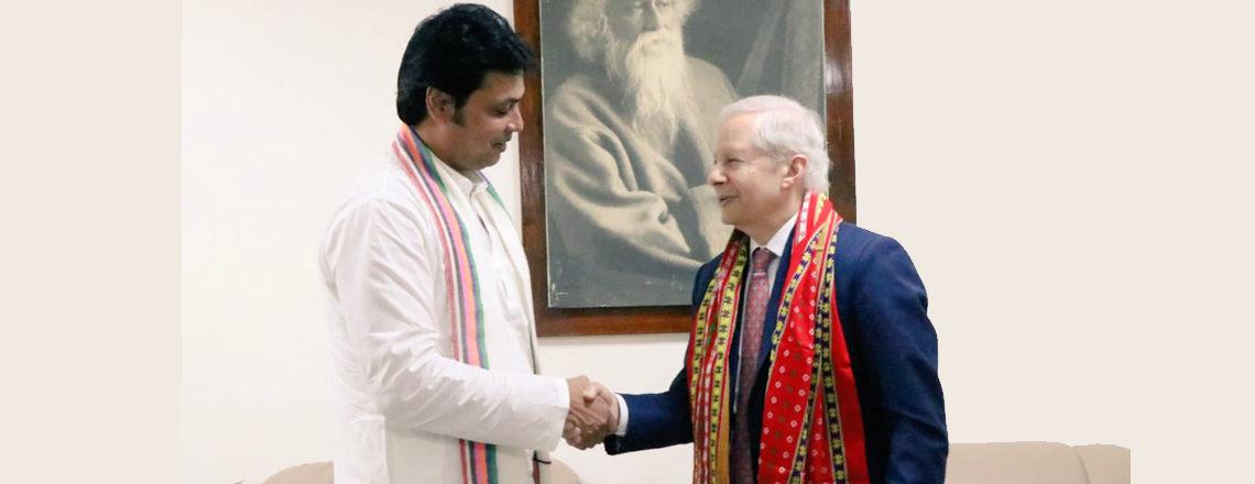 Ambassador Kenneth I. Juster Visits Tripura